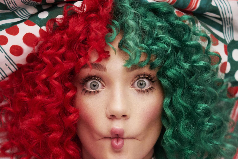 Así será el disco navideño de Sia