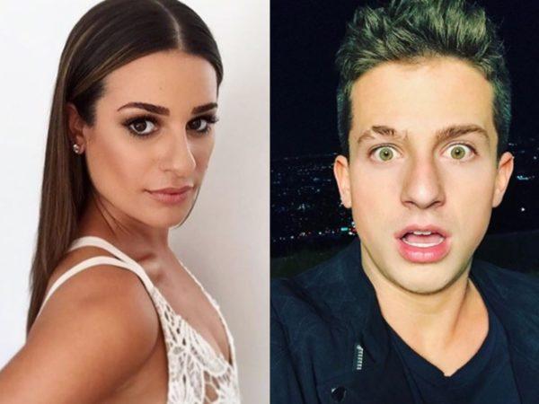 El secreto romance de Charlie Puth y Lea Michele