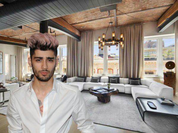 Así es el nuevo piso de soltero de Zayn Malik