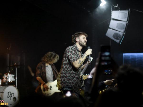 Dani Fernández en Barcelona: Humildad, energía y emoción