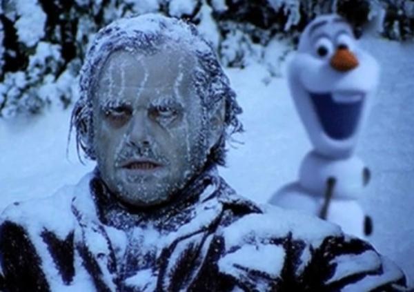 El Resplandor y Frozen II tienen algo en común
