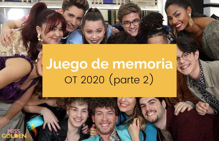 Juego de memoria OT 2020 (Parte 2)