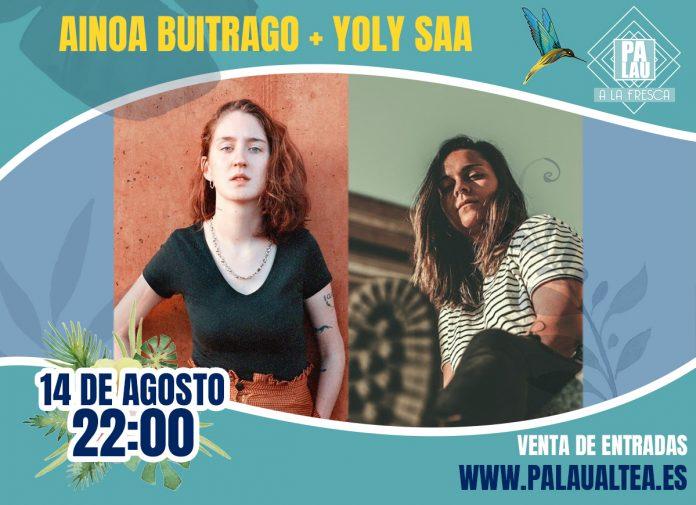 No te pierdas a Ainoa Buitrago y Yoli Saa juntas en concierto