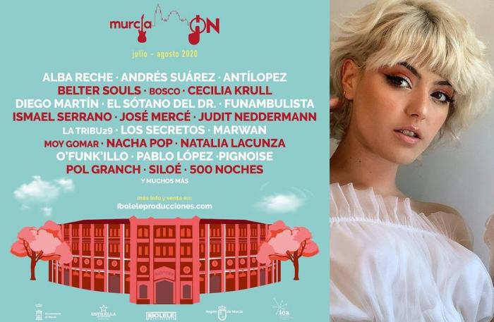 Empieza la cuenta atrás para Alba Reche en el 'Murcia ON Festival'