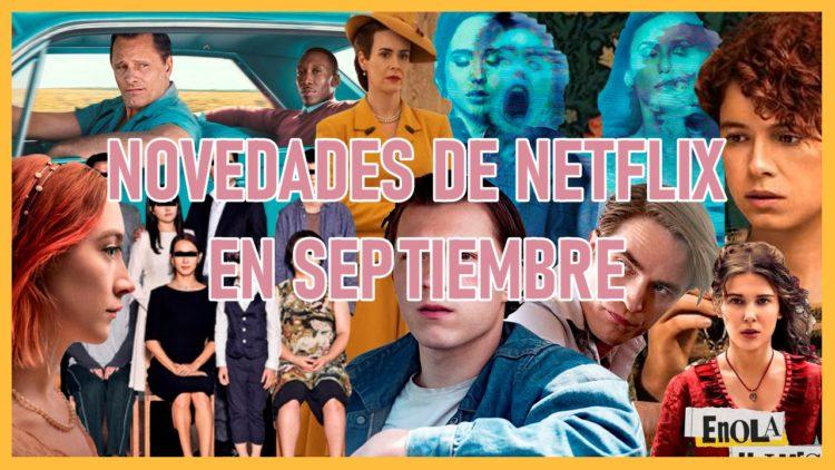 ¡Lo que se viene en Netflix para el mes de septiembre!