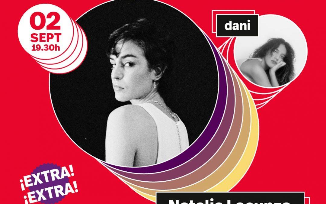 El 2 de septiembre no te pierdas a Natalia Lacunza + dani