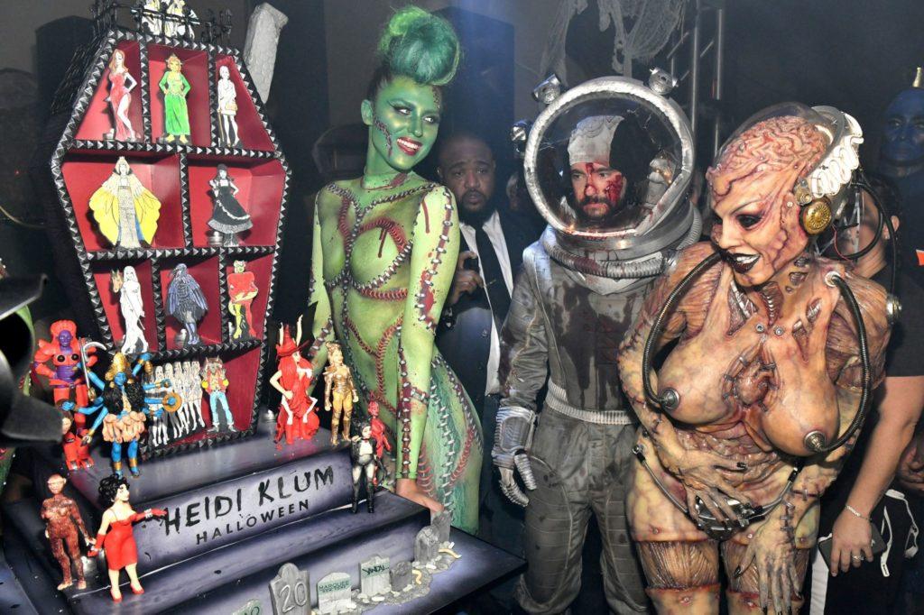 Heidi Klum: la reina de las fiestas de Halloween