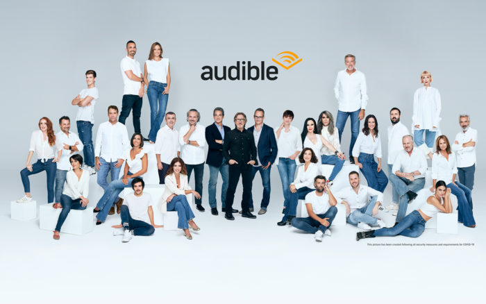 Escucha tu libro favorito narrado por tu actor preferido con Audible