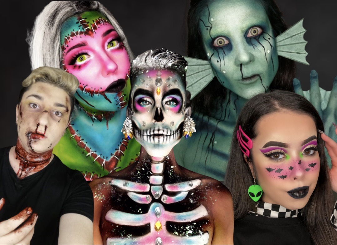 Halloween make-up: descubre a 5 artistas de maquillaje inspiradores
