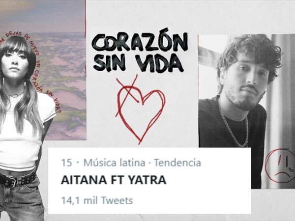 'Corazón sin vida', la nueva colaboración de Aitana y Sebastián Yatra
