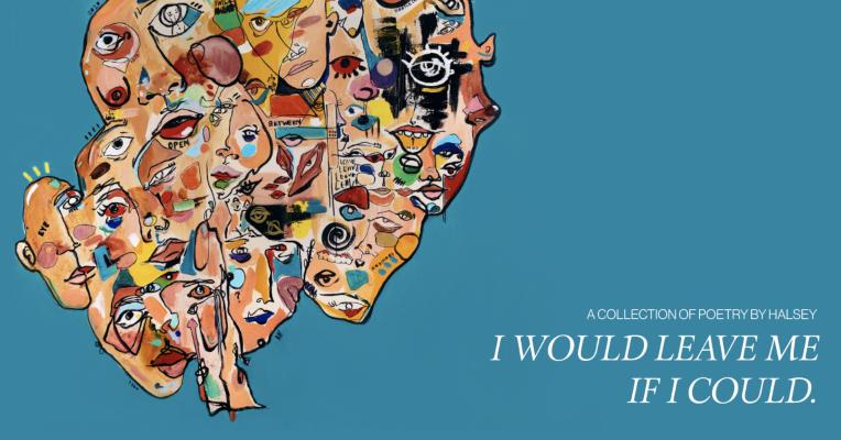 El primer libro de Halsey ya está aquí: 'I Would Leave Me If I Could' muestra su lado más íntimo